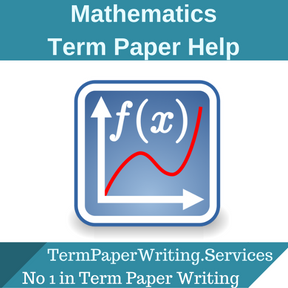 Mathematics Term Paper Help