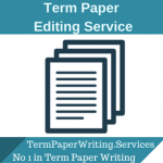 Term Paper Editing Service