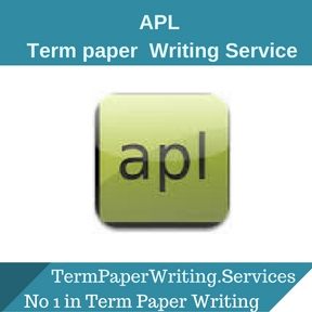 APL Term Paper Writing Service