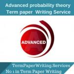 Advanced probability theory