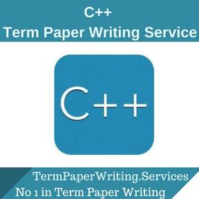 C++ term paper Help