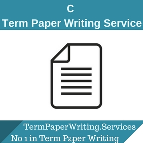 C Term Paper Writing Service