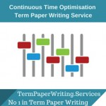 Continuous Time Optimisation