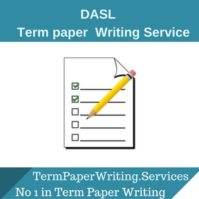 DASL Term paper Writing Service