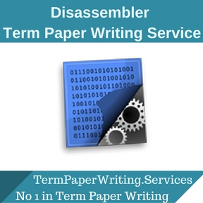 Disassembler Term Paper Writing Service