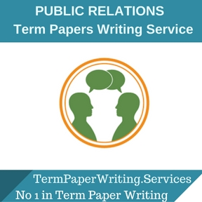 PUBLIC RELATIONS TERM PAPER Writing Service