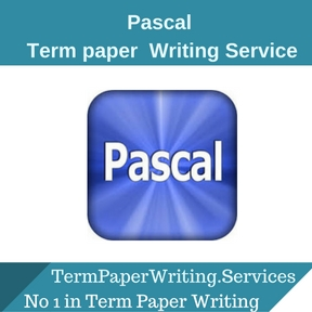 Pascal term paper Writing Service