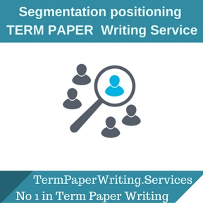 Segmentation positioning term paper Writing Service