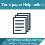 Term paper help online