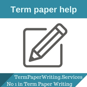 Help writing a term paper