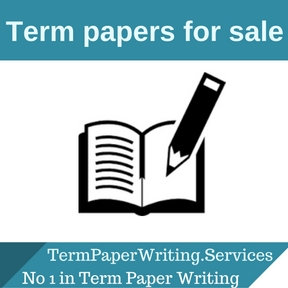 Term papers for sale