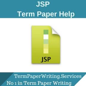 JSP Term Paper Help