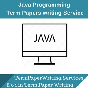 Java Programming Term Paper Writing Service