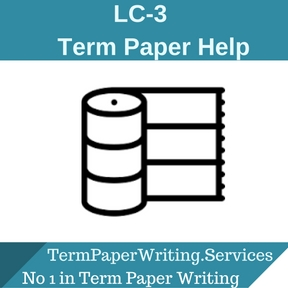 LC-3 Term Paper Help