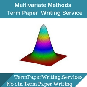 Multivariate Methods Term Paper Writing Service