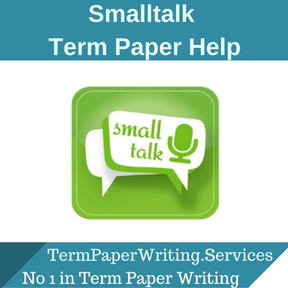 Smalltalk Term Paper Help