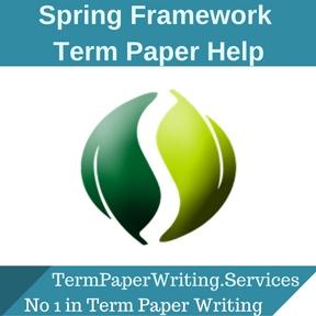 Spring Framework Term Paper Help