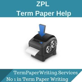 ZPL Term paper Help
