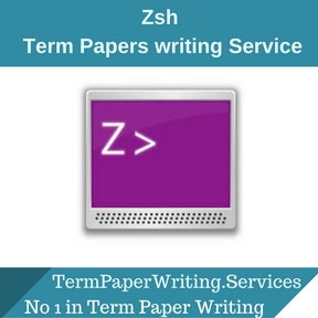 Zsh Term Paper Writing Service
